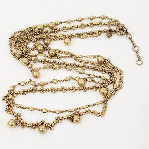 J. Crew Double Chain Necklace Extra Long [D1]